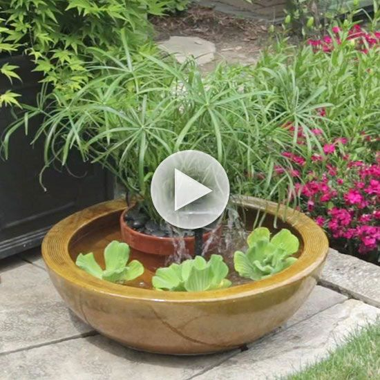 Watch Create A Container Water Feature In The Better Homes And Gardens Video