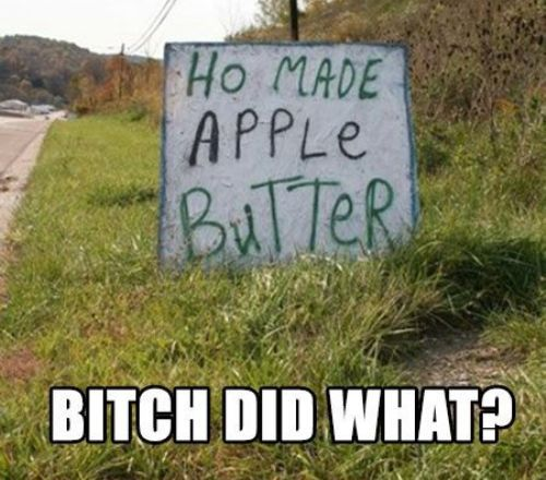 Apple Butter Funny Pictures Quotes Memes Jokes Laughing So Hard Funny Laugh