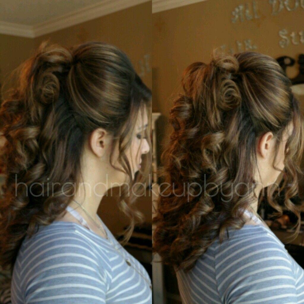 Gorgeous half up half down hair stylist anh pham serving dallasft