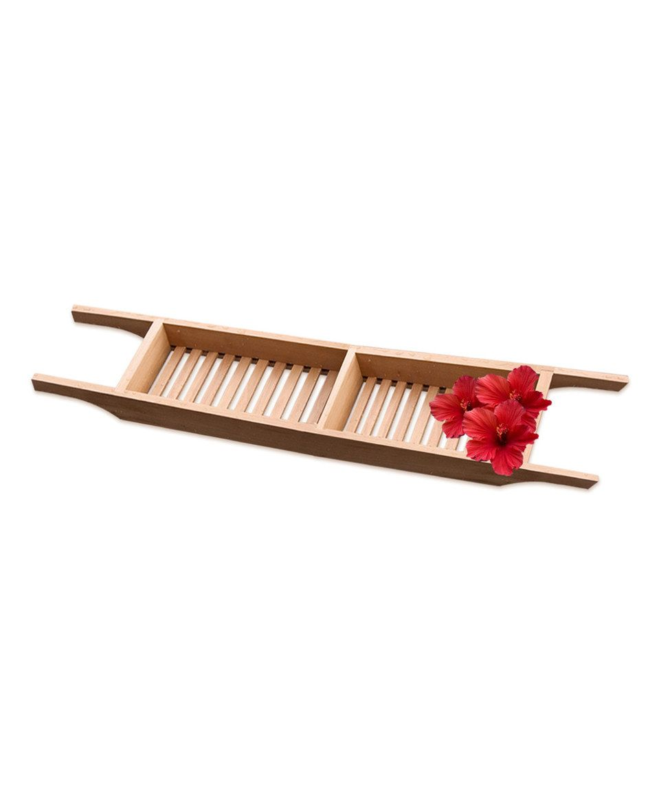 30 Teak Bathtub Caddy By Taymor Zulily Zulilyfinds