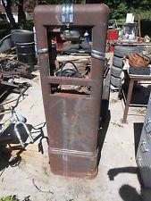 S F  Bowser & Co  Gas Pump 1940's 575 585 VINTAGE Fuel