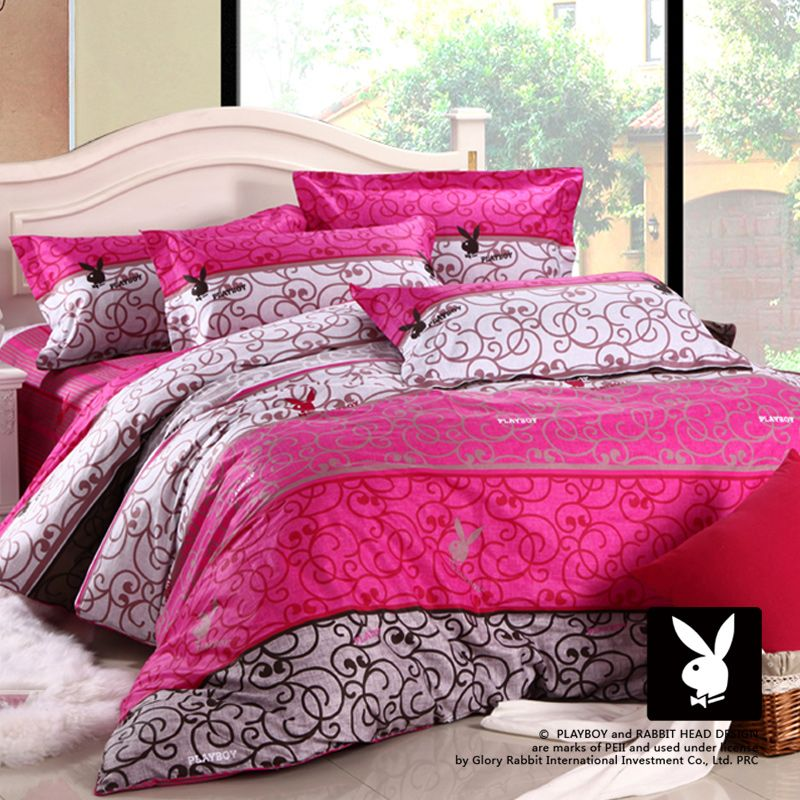 $88 Playboy Home Textile Denim Cotton Bedding Cotton