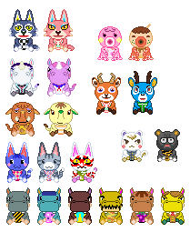 Free Villager Pixel Art Animal Crossing New Leaf
