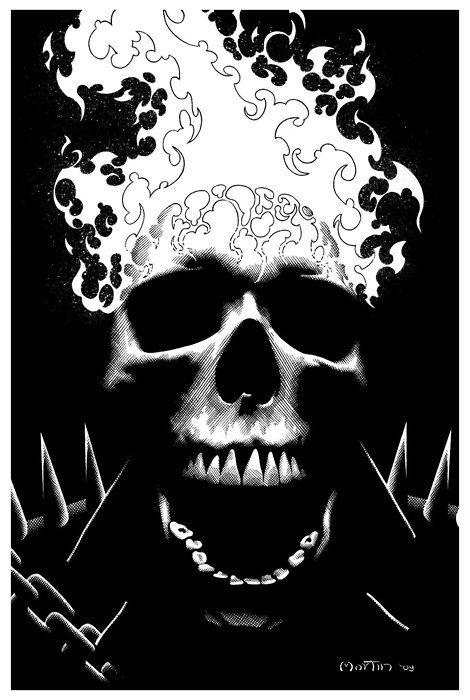 Ghost Rider by Gary Martin