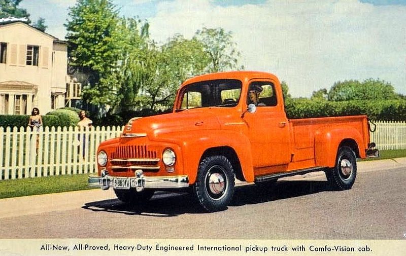 international pickup trucks | transpress nz: 1952