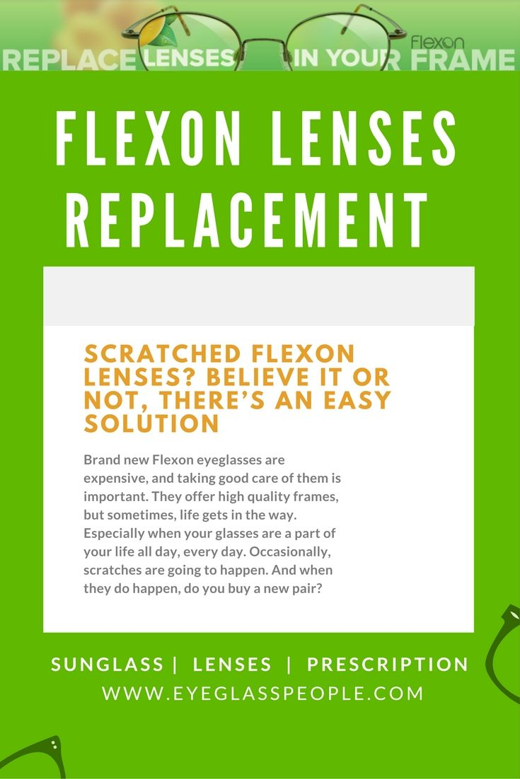 Scratched Flexon Lenses? Believe it or Not, There\'s an Easy Solution ...