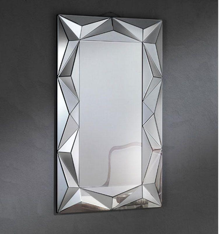 Espejo modernos espejos de cristal espejos baratos espejos for Espejos rectangulares para sala