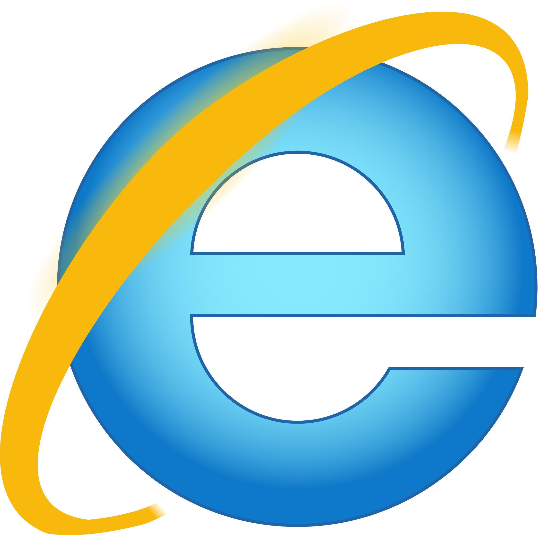 Reproduction Logo Internet Explorer 9