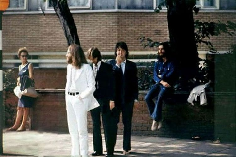 Abbey Road Cover Photo Session