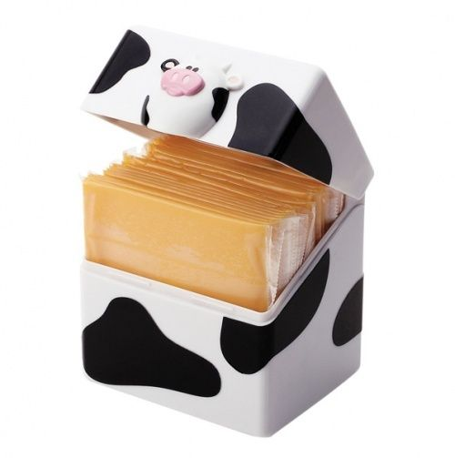 Fun Kitchen Gadgets moo moo cheese slice holder - joie kitchen gadgets >>> too cute