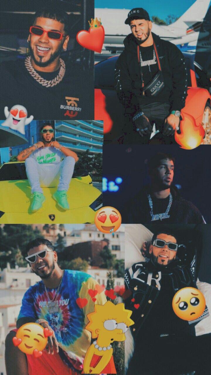 Anuel Aa El King Cute Tumblr Wallpaper Edgy Wallpaper Iconic Wallpaper