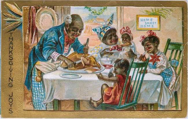 Black Family Eating Thanksgiving Dinner The Mother Land History