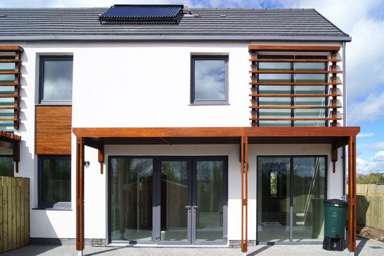 Lisnahull 'Passivhaus' Social Housing Ireland homes