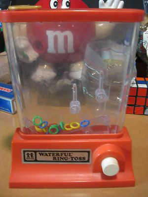 Used to beat my brother at this all the time. Waterful Ring Toss Water Game 1970's Toy