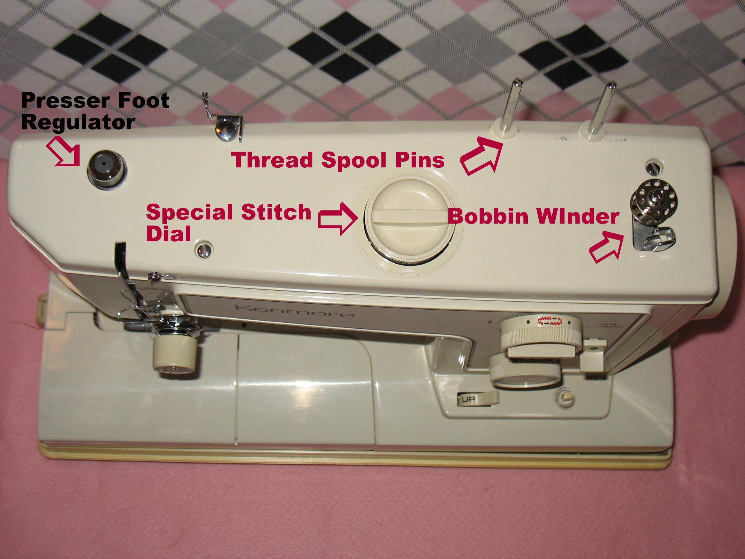 Kenmore Sewing Machine Wiring Diagram
