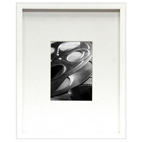 Room Essentials™ Wide-Mat Frame - White 5x7 | Apt - Wall Decor ...