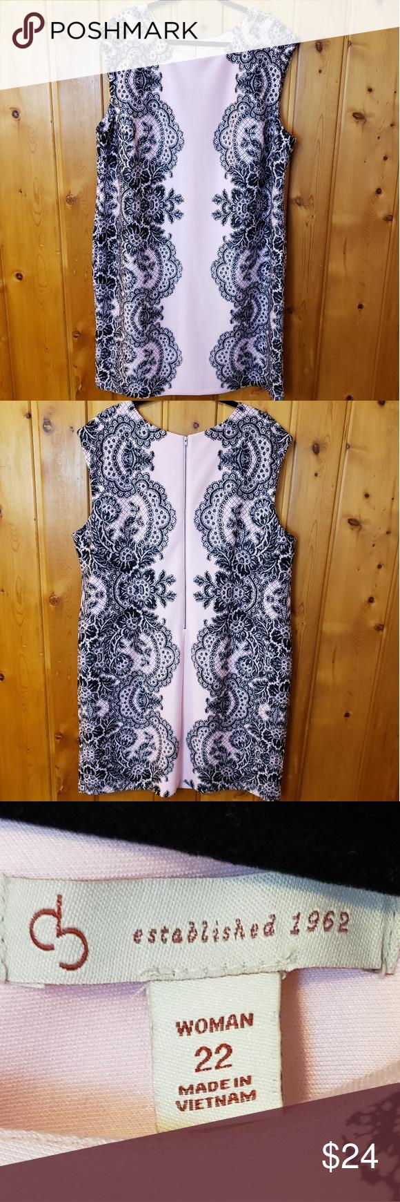 ➕ CB Casual Scuba Sheath Dress