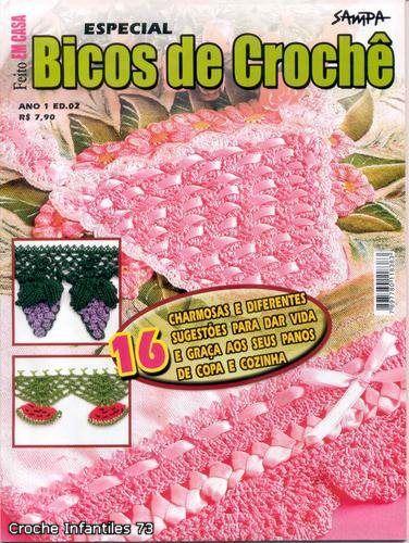 Bicos de Croche ano 1 ed 2 especial