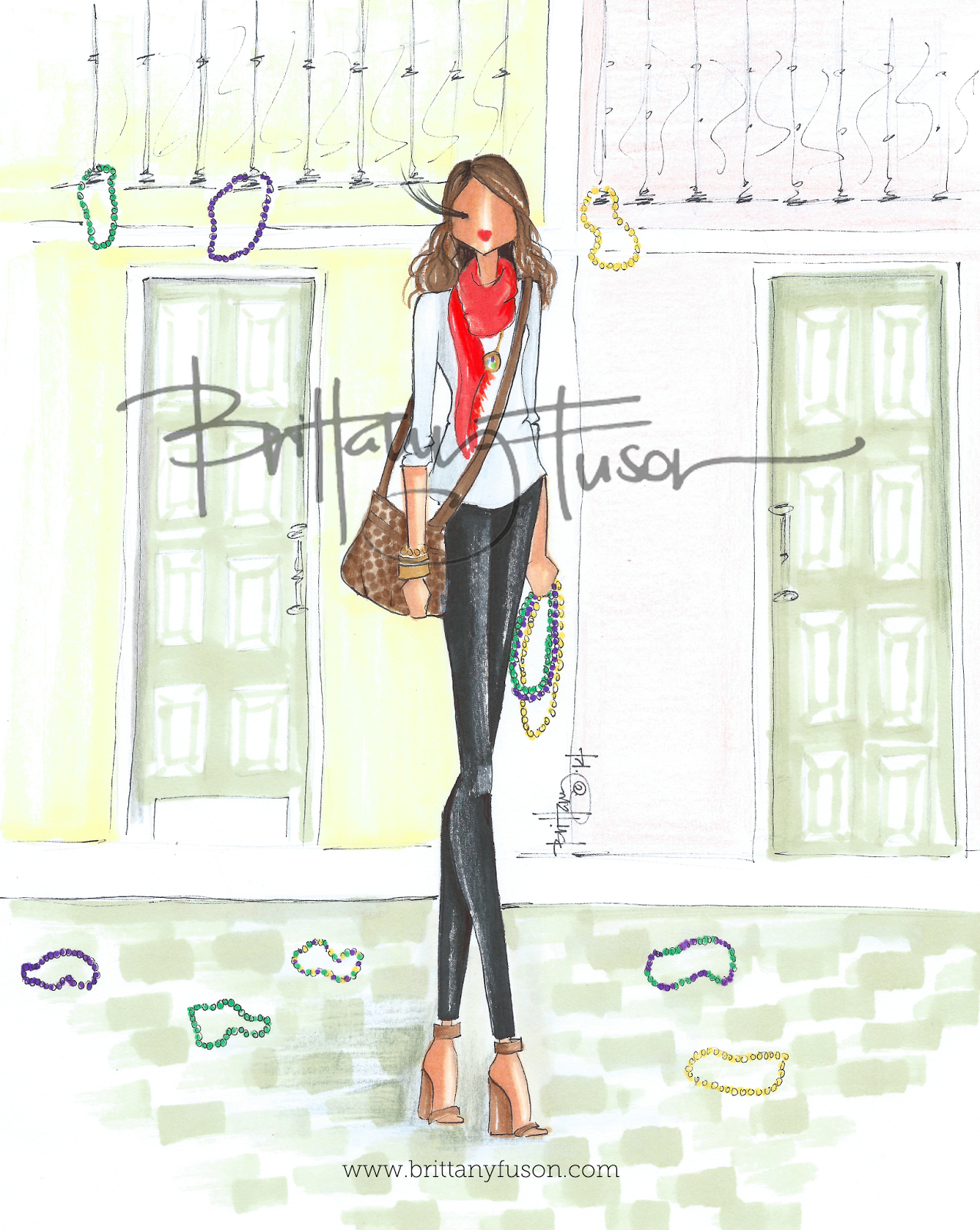 Custom Illustration | www.brittanyfuson.com