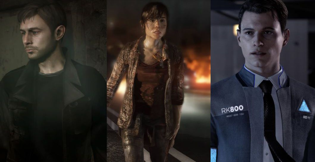 Heavy Rain, Beyond: Two Souls, and Detroit: Become Human ...