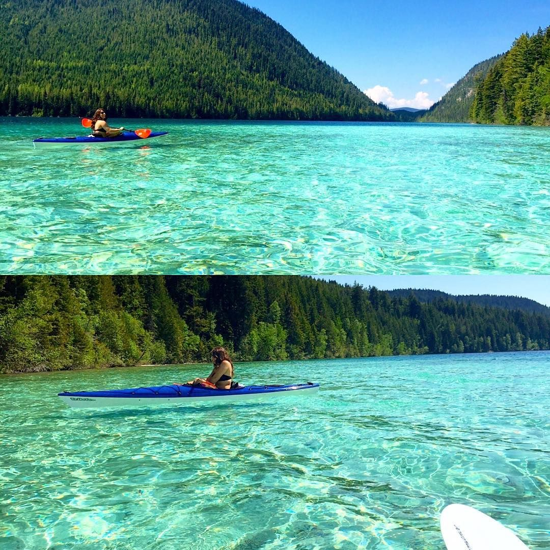 Beaches Vancouver Island: This Secret Lake In BC Looks Like A Caribbean Paradise
