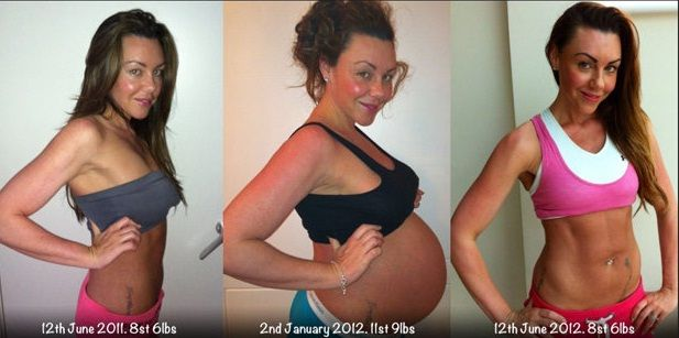 average weight loss immediately after delivery