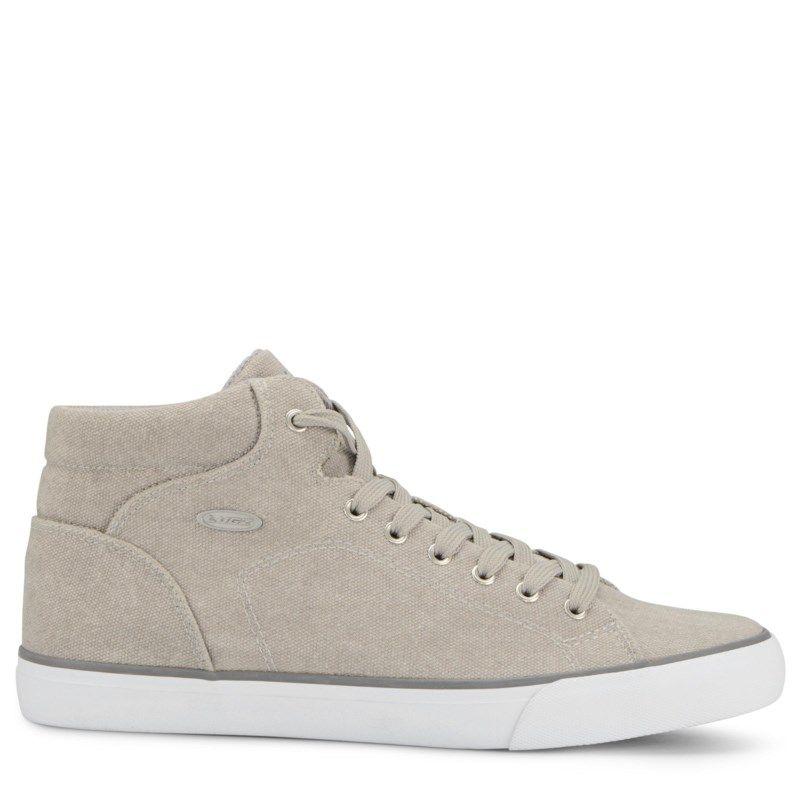 Lugz Men's King High Top Sneakers (Cool Grey/White/Gum) - 11.5