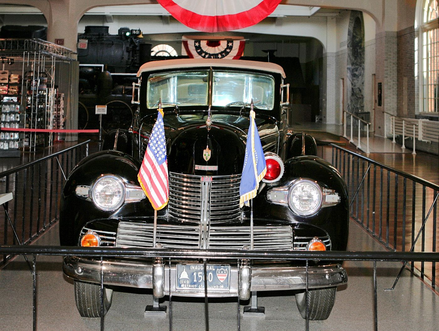 Lincoln Sunshine Special Presidential Limousine Roosevelt Truman Fv H Ford Museum Cl