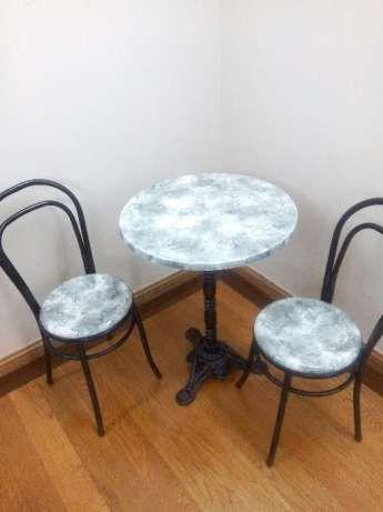 Conjunto mesa com duas cadeiras Vila Nova de Gaia - imagem 1