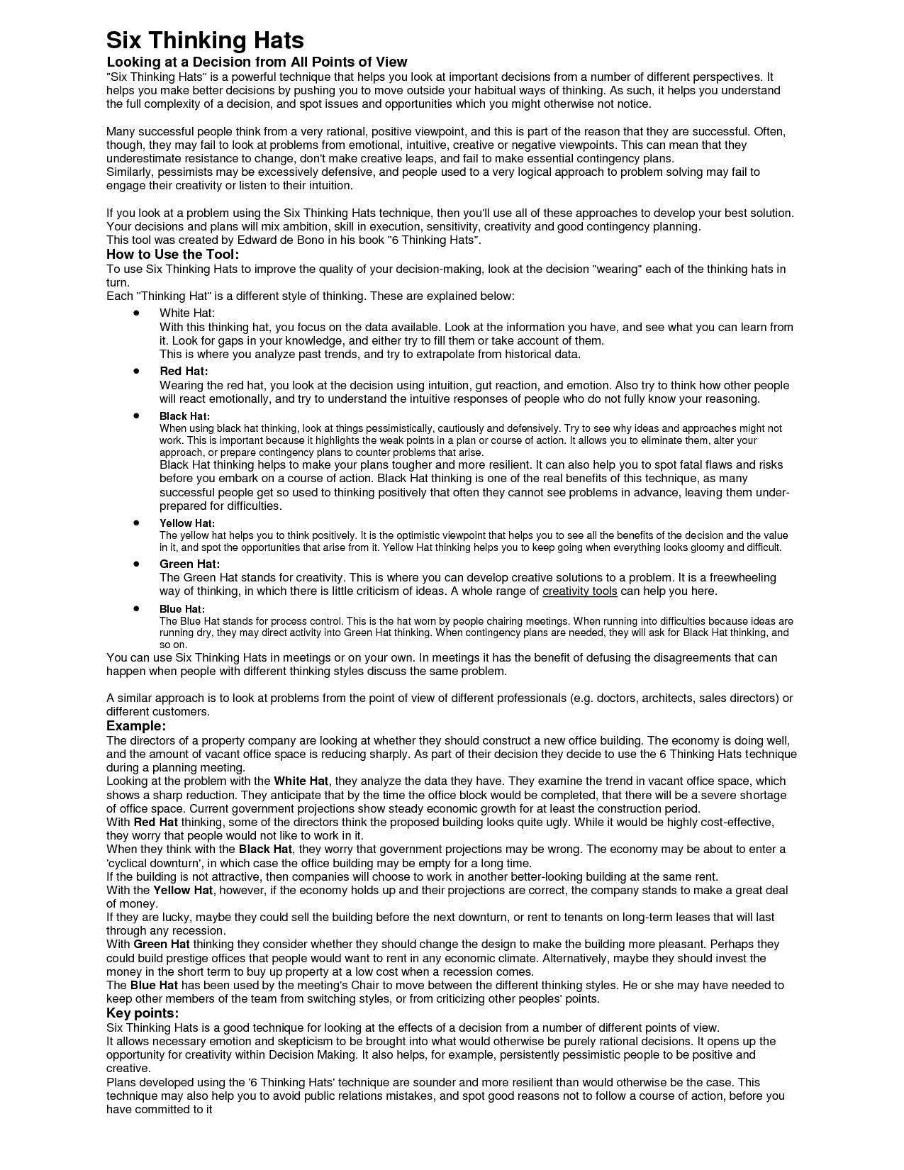 Free Printable Information Sheet