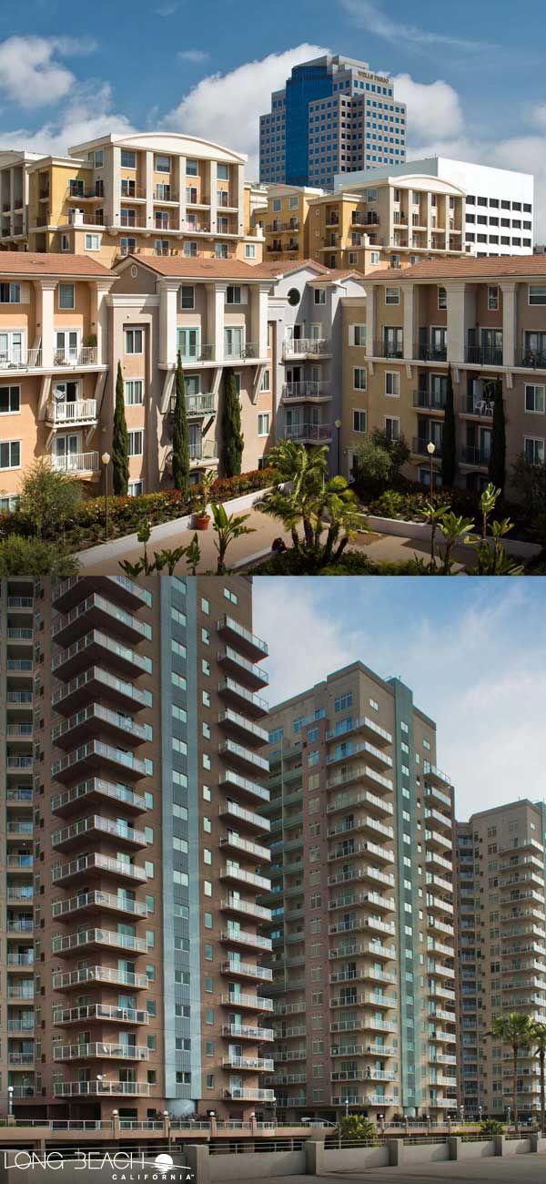 The Camden Apartments And The Aqua Condominiums Offer World Class Views Of The Long Beach Harbor And The Pacific Ocean Camden Apartments Beach Long Beach