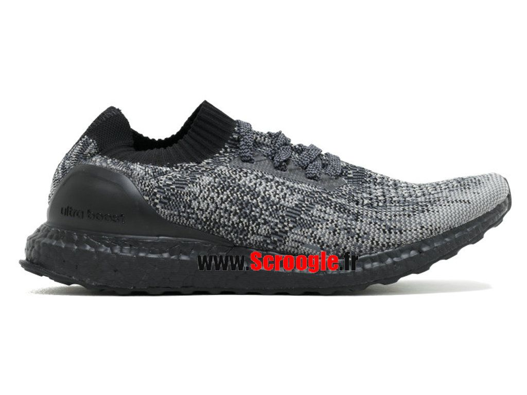 new style a36a2 ad826 Chaussures de Running Pas Cher Pour HommeFemme Adidas Ultra Boost Uncaged  Ltd Gris Noir bb4679