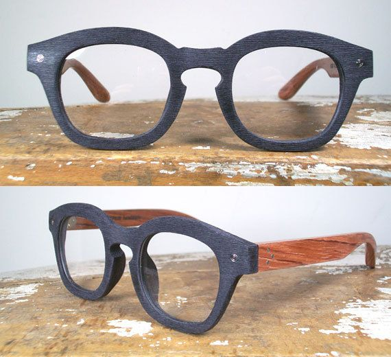 cef61a3d370 Handmade Black Acetate   Wood