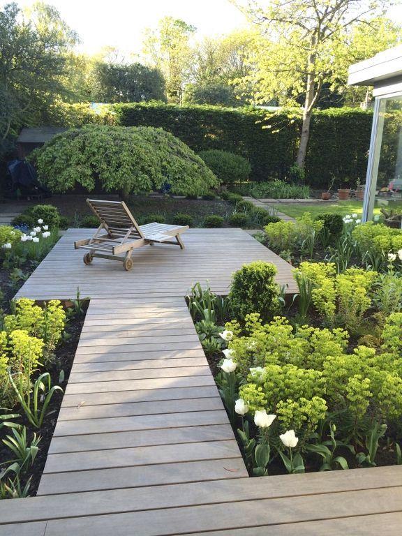 Lucy Willcox Partially Registered Putney Heath Patio Garden Design Garden Design Patio Garden