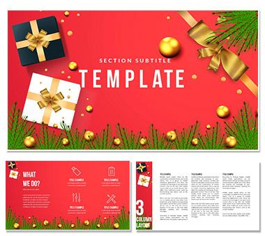 Choose Gift for Christmas PowerPoint templates ImagineLayout - christmas powerpoint template
