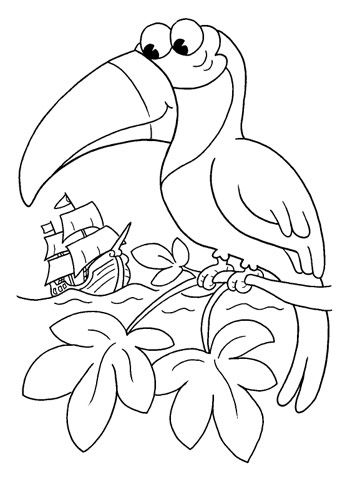 Download Free Animal Themed Coloring Pages For Kids