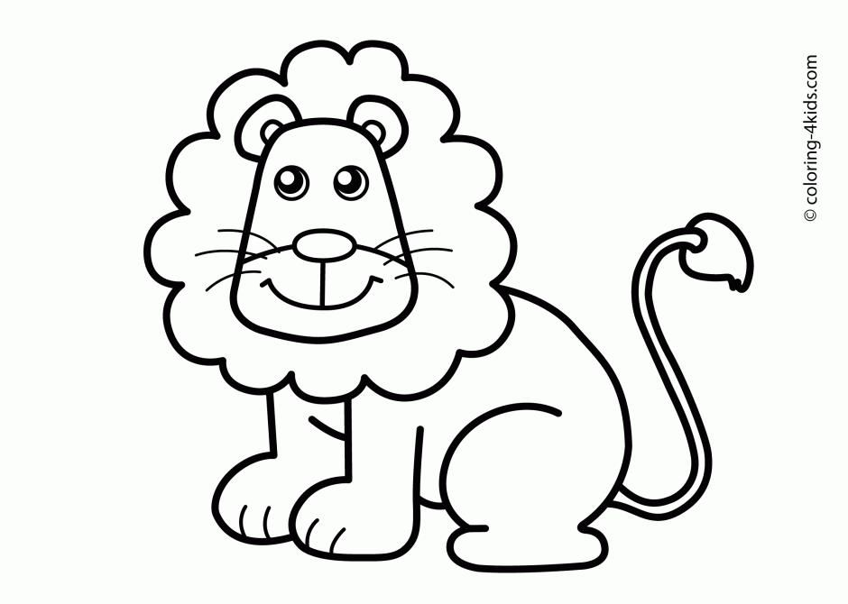38 Coloring Page Of Lion Face In 2020 Animal Coloring Pages Animal Coloring Books Easy Animal Drawings