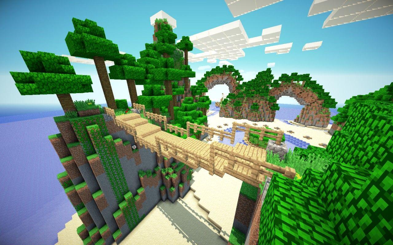 minecraft survival games map Breeze Island! Amazing