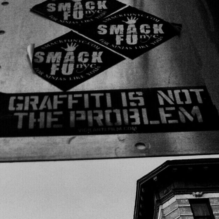 Graffiti is not the Problem, NYC 2012