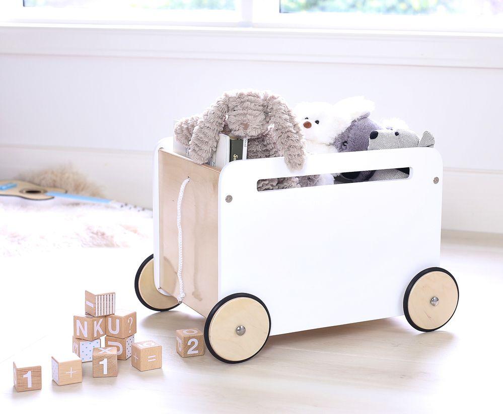 Toni Toy Box On Wheels Kid Toy Storage Toy Storage Boxes Toy Storage