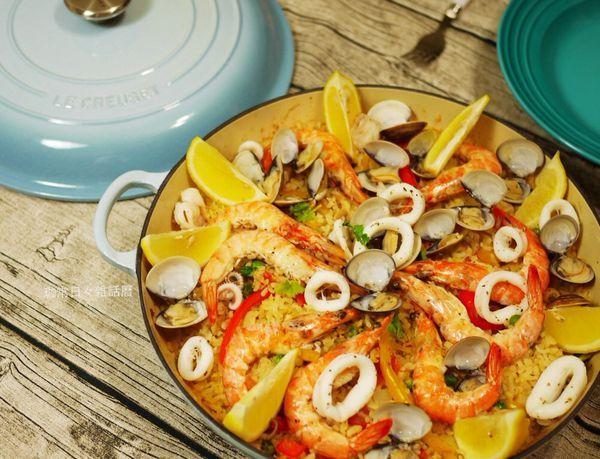 西班牙海鮮鍋飯Paella, Get the Recipe: http://parisroka.pixnet.net/blog/post/375320969