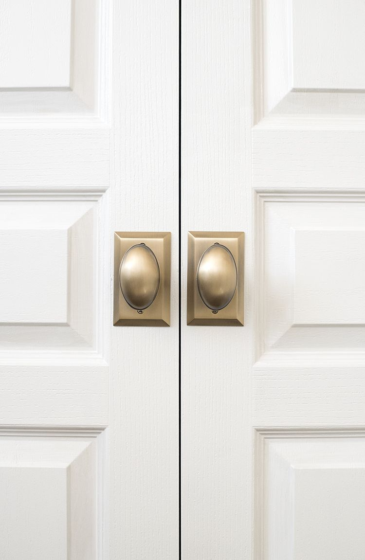 How We Choose : Hardware - Room for Tuesday Blog | Hardware | French Lock For French Closet Doors on