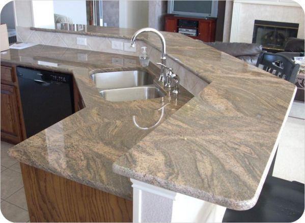 Colombo Juparana Granite Kitchen Tops