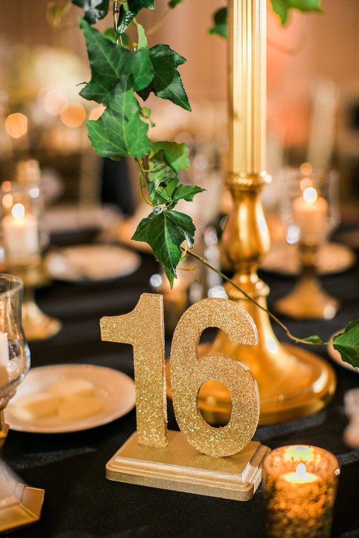 Elegant Gold New Year's Eve Florida Wedding   Wedding ...