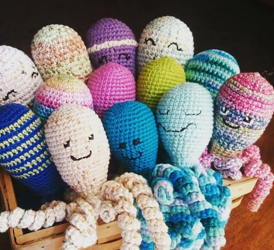 How To Crochet An Octopus For A Preemie   Häkeln