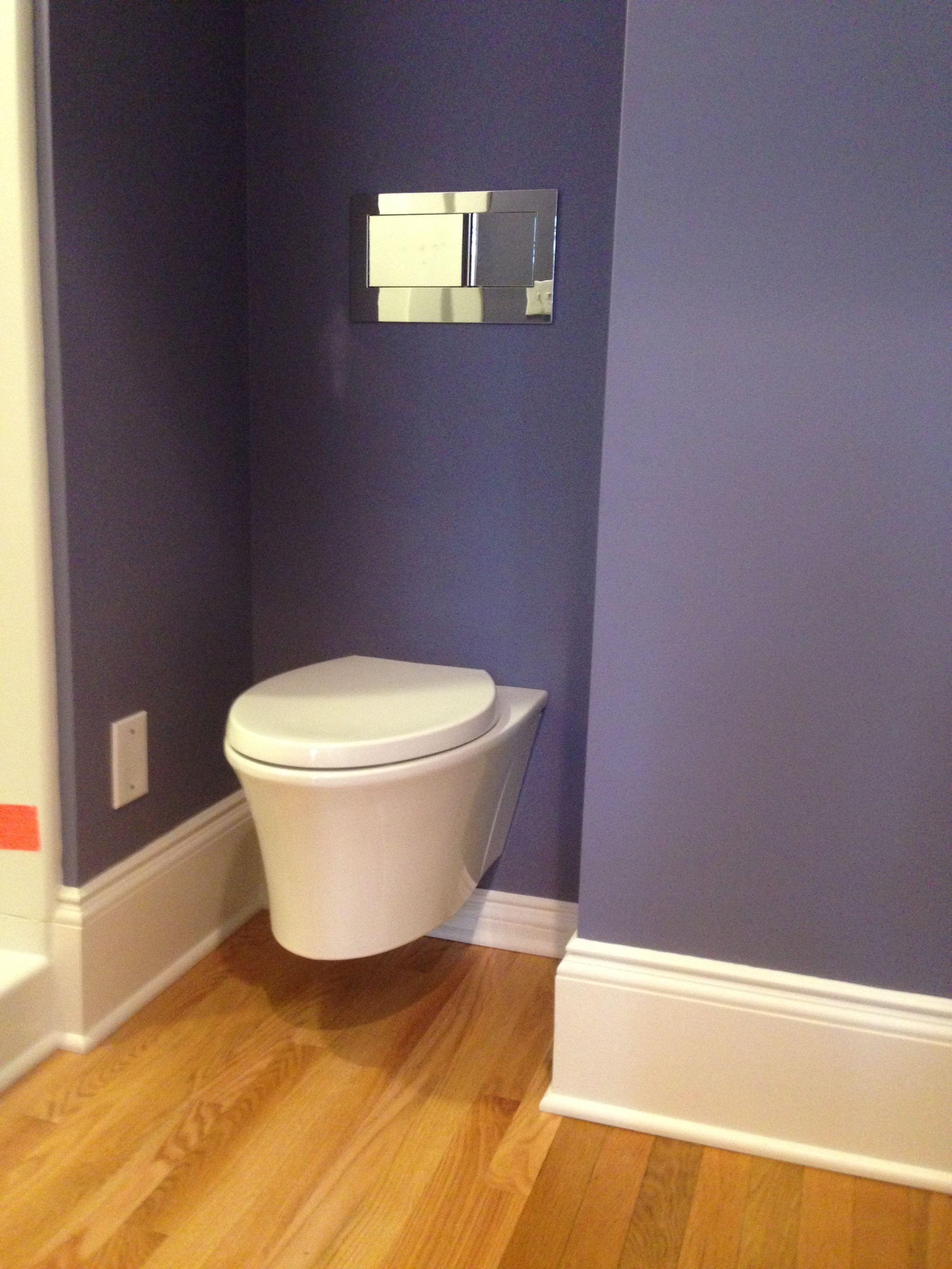Kohler In Wall Tank Toilet With Images Toilet Bathroom Kohler