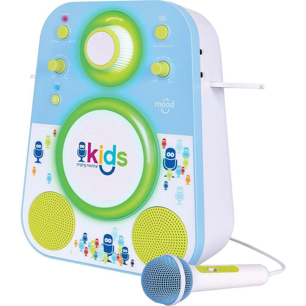 Singing Machine - Kids Mood Bluetooth Karaoke System ...