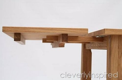 Table Extension Cleverlyinspired