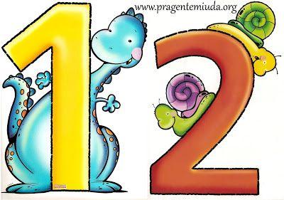 números coloridos para imprimir pra gente miúda brojimo