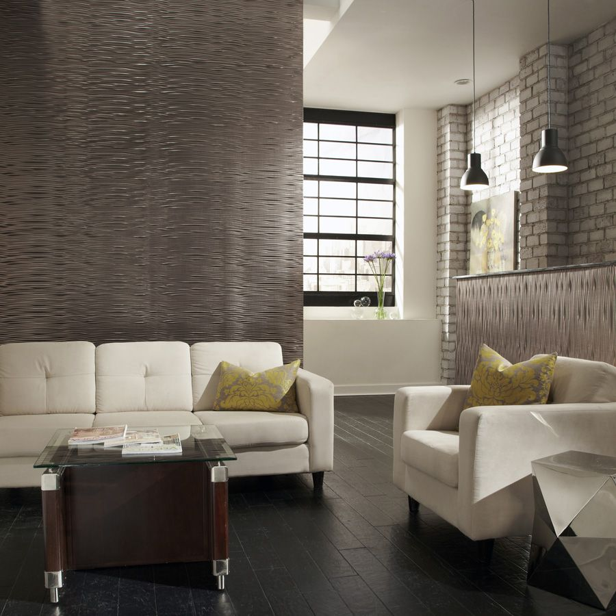 Mirroflex Gobi In Brushed Nickel Beautiful Textured Wall Panels Are A Great Alternative To Paint Or Vinyl Wall Panels Wall Paneling Decorative Ceiling Tile